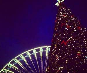 amazing, christmas, and night image