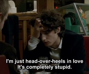 in love, louis garrel, and movie image