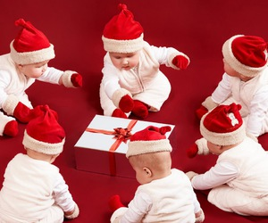 christmas, baby, and cute image