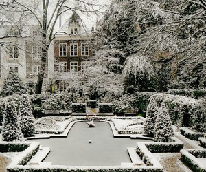 amsterdam, the netherlands, and snow image