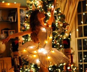 christmas, dance, and girl image