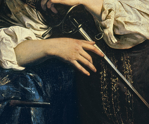 art, caravaggio, and painting image