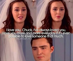 love, blair, and chuck image