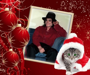 merry christmas, michael jackson, and cute image