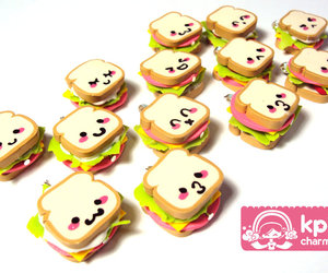charms, face, and food image