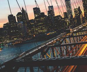 light, travel, and new york image
