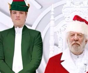 president snow, christmas, and elf image