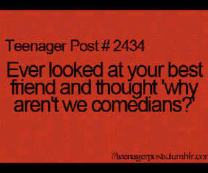 best friend and comedians image