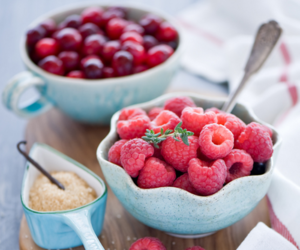food, raspberry, and fruit image