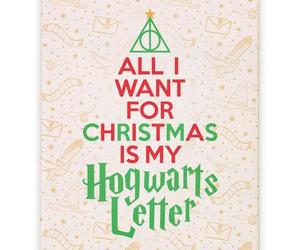 christmas and hogwarts image