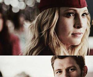 the vampire diaries, klaus, and klaroline image