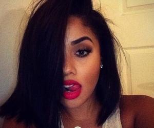 lips, hair, and eyebrows image