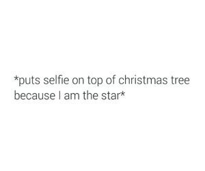 christmas, stars, and selfie image
