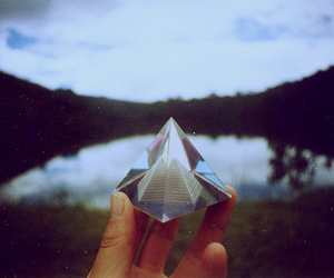 triangle and vintage image