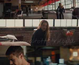 four, divergent, and Shailene Woodley image