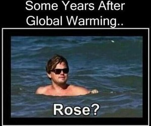titanic, funny, and rose image