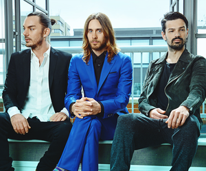 30 seconds to mars, 30stm, and tomo milicevic image