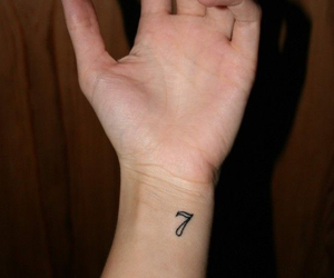 tattoo, seven, and 7 image