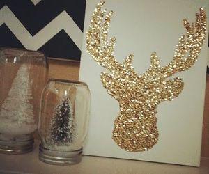 christmas, diy, and glitter image