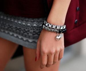 fashion, girl, and bracelet image
