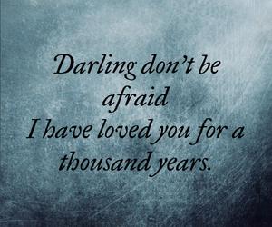 love, darling, and christina perri image