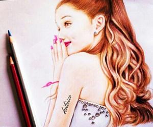 beautiful, draw, and pretty image