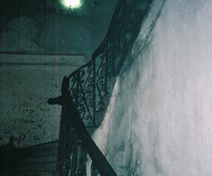dark, stairs, and creepy image