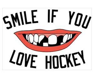 hockey, smile, and love image