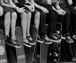 skate, boy, and vans image