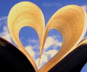 book, blue, and creativity image