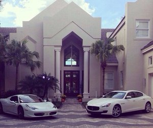 car, luxury, and house image