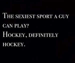 hockey and quote image