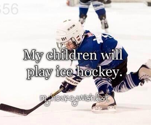 child and hockey image