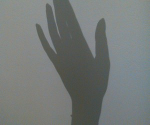 hand, leave, and lost image