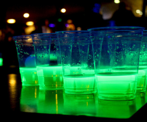 drink, green, and party image