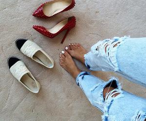 shoes, style, and chanel image