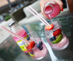 drinks, food, and fruit image