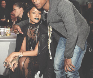 rihanna, pharrell, and Pharrell Williams image