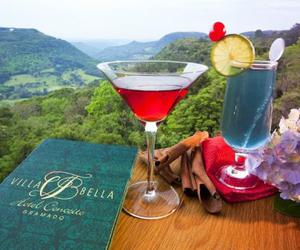 drink, gramado, and romantic places image