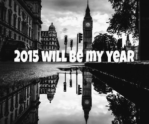 london, new year, and 2015 image