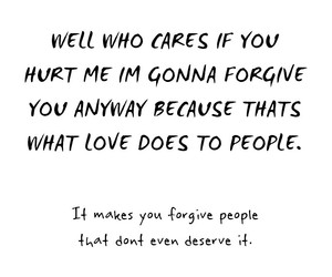 forgive, hurts, and quote image