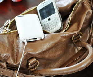 bag, blackberry, and fashion image