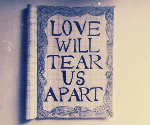doodle and love will tear us apart image