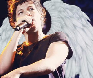 angel, tomlinson, and onedirection image