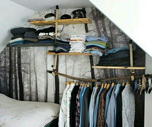 clothes, bedroom, and room image