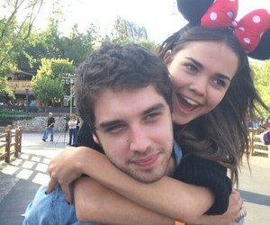 maia mitchell, the fosters, and david lambert image