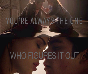 first kiss, teen wolf, and lydia martin image