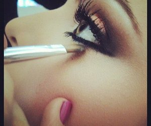 beautiful, girl, and eyeliner image