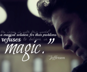 magic, quote, and once upon a time image