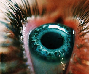 eye, blue, and tumblr image